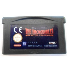 Gameboy Advance The Incredibles Rise of the Underminer