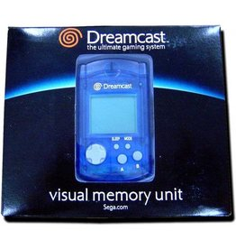 Sega Dreamcast Dreamcast VMU Unit Blue (New)
