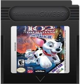 Gameboy Color 102 Dalmatians Puppies to the Rescue