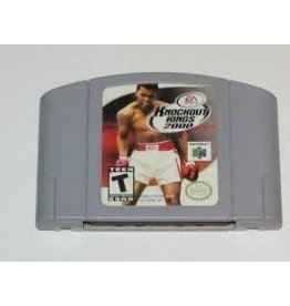 Nintendo 64 Knockout Kings 2000
