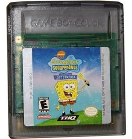 Nintendo Gameboy Color SpongeBob SquarePants Legend of the Lost Spatula