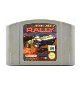 Nintendo 64 Top Gear Rally