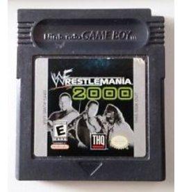 Gameboy Color WWF Wrestlemania 2000