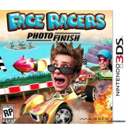 Nintendo 3DS Face Racers: Photo Finish