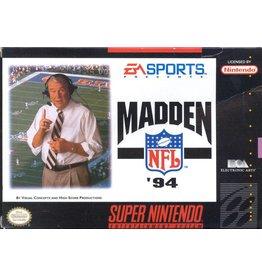 Nintendo Super Nintendo (SNES) Madden NFL '94