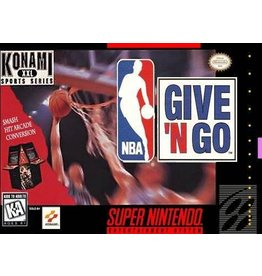 Nintendo SNES NBA Give 'n Go