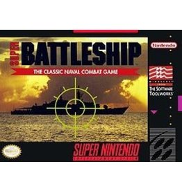 Nintendo SNES Super Battleship