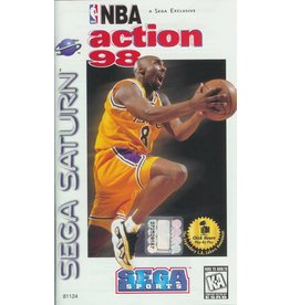 Sega Saturn NBA Action 98