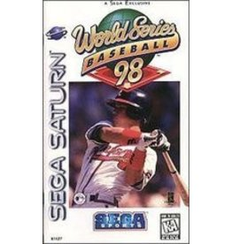 Sega Saturn World Series Baseball 98