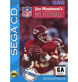 Sega CD Joe Montana NFL Football