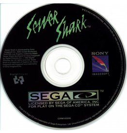 Sega CD Sewer Shark