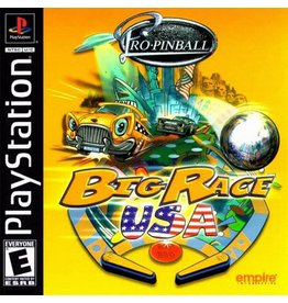 Playstation 1 Pro Pinball Big Race USA