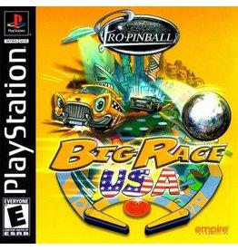 Sony Playstation 1 (PS1) Pro Pinball Big Race USA