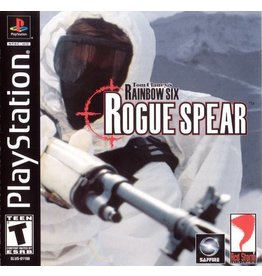 Playstation 1 Tom Clancy's Rainbow Six Rogue Spear