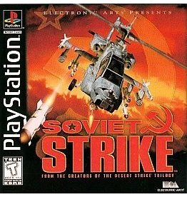 Playstation 1 Soviet Strike