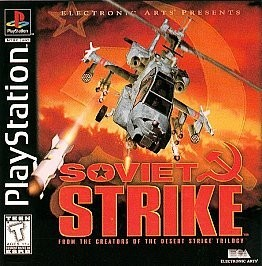 Playstation 1 Soviet Strike