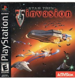 Playstation 1 Star Trek Invasion