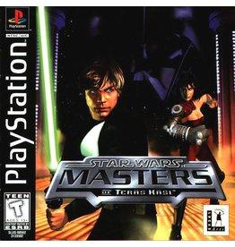 Playstation 1 Star Wars Masters of Teras Kasi