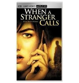 Sony Playstation Portable (PSP) UMD When A Stranger Calls