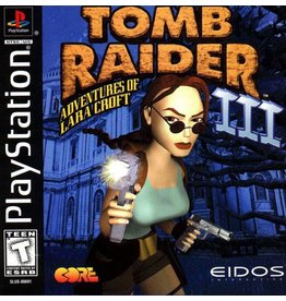 Playstation 1 Tomb Raider III