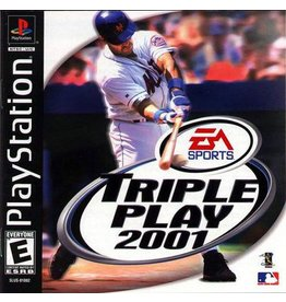 Playstation 1 Triple Play 2001