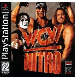 Playstation 1 WCW Nitro