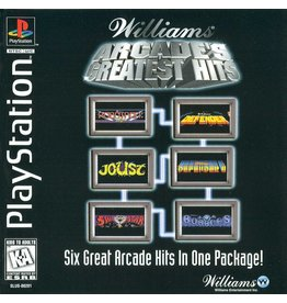 Playstation 1 Williams Arcade's Greatest Hits