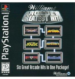 Sony Playstation 1 (PS1) Williams Arcade's Greatest Hits