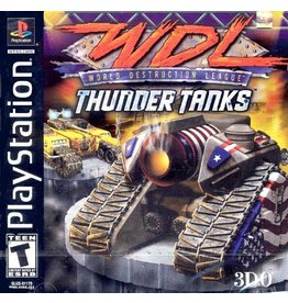 Playstation 1 World Destruction League: Thunder Tanks