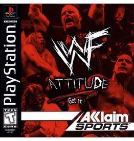 Playstation 1 WWF Attitude Get It