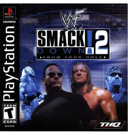Sony Playstation 1 (PS1) WWF Smackdown! 2: Know Your Role