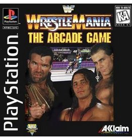Playstation 1 WWF Wrestlemania The Arcade Game