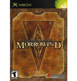 Xbox Elder Scrolls III Morrowind