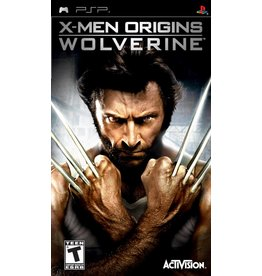 Playstation PSP X-Men Origins: Wolverine