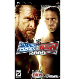 Playstation PSP WWE SmackDown vs. Raw 2009