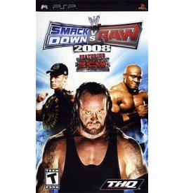Sony Playstation Portable (PSP) WWE Smackdown vs. RAW 2008