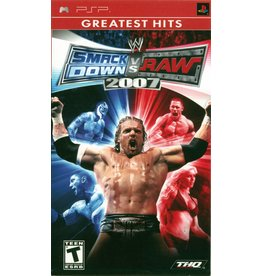 Playstation PSP WWE Smackdown vs. Raw 2007