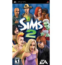 Playstation PSP The Sims 2