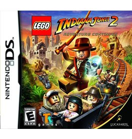 Nintendo DS LEGO Indiana Jones 2: The Adventure Continues