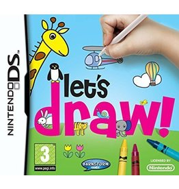 Nintendo DS Let's Draw