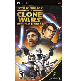 Playstation PSP Star Wars: The Clone Wars Republic Heroes