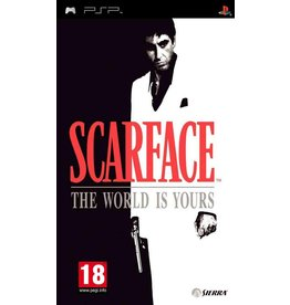 Sony Playstation Portable (PSP) Scarface Money. Power. Respect