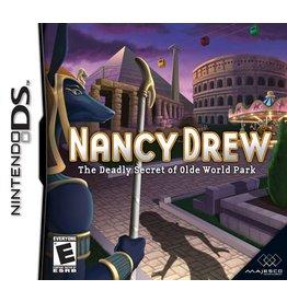 Nintendo DS Nancy Drew The Deadly Secret of Olde World Park