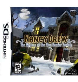 Nintendo DS Nancy Drew The Mystery of the Clue Bender Society