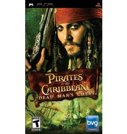 Playstation PSP Pirates of the Caribbean Dead Man's Chest