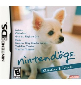 Nintendo DS Nintendogs Chihuahua and Friends