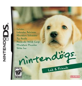 Nintendo DS Nintendogs Lab and Friends