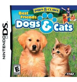 Nintendo DS Paws and Claws Dogs and Cats Best Friends