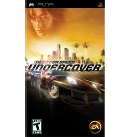 Playstation PSP Need for Speed Undercover