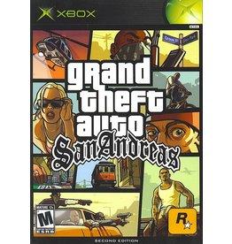 Xbox Grand Theft Auto San Andreas GTA
